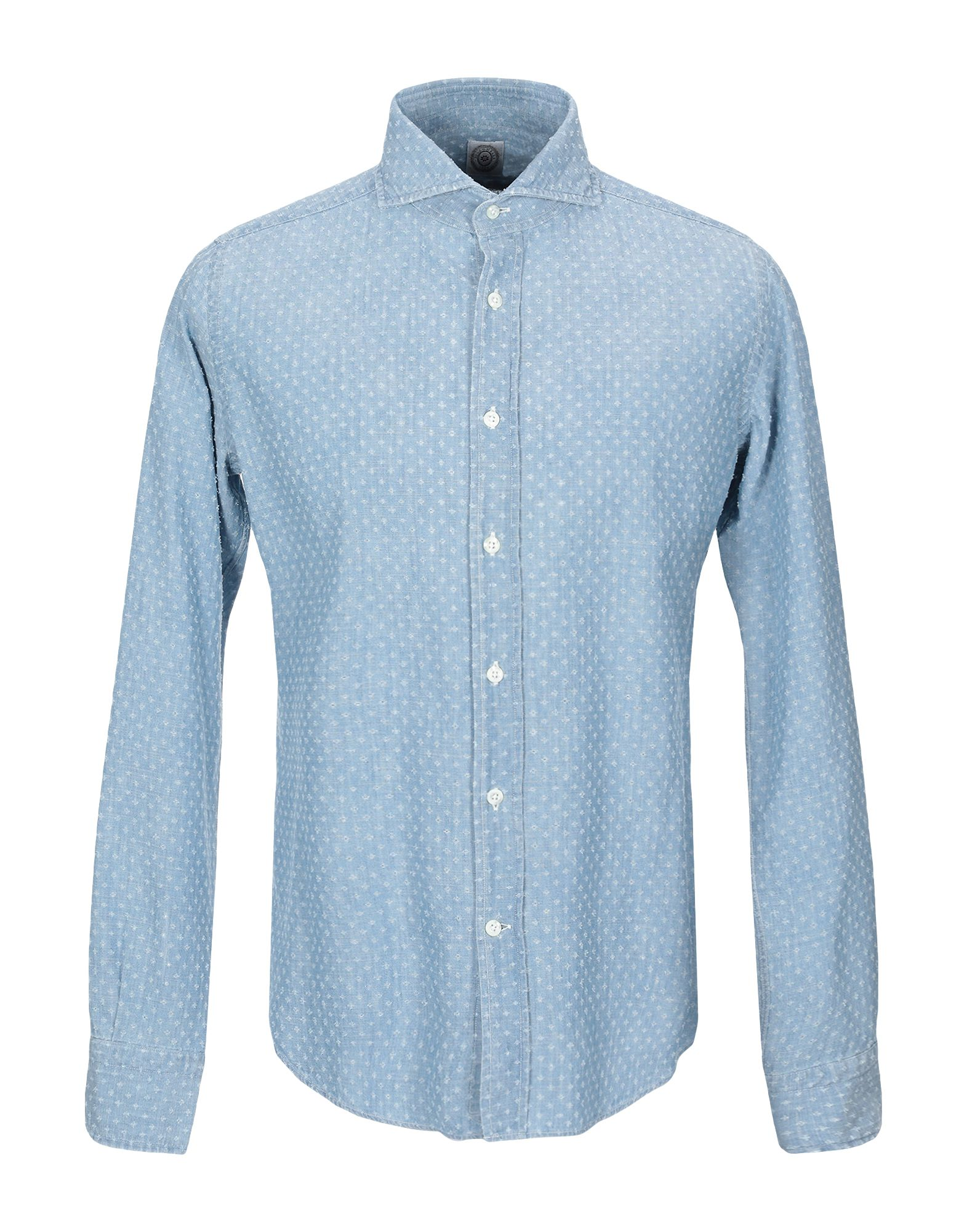 BOLZONELLA 1934 Shirts in Sky Blue