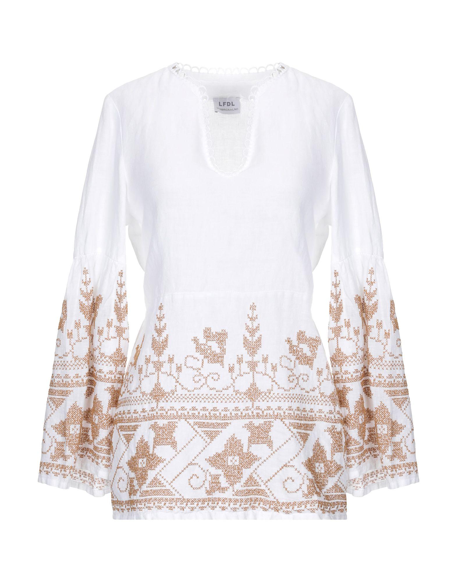 LA FABBRICA del LINO Блузка цены онлайн