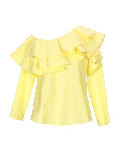 Фото - Женскую блузку JOVONNA желтого цвета