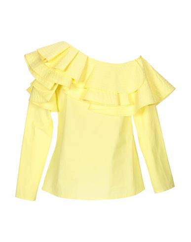 Фото 2 - Женскую блузку JOVONNA желтого цвета