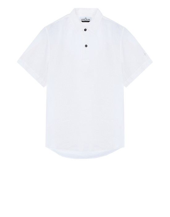 Short sleeve shirt 11401 'FISSATO' DYE TREATMENT STONE ISLAND - 0