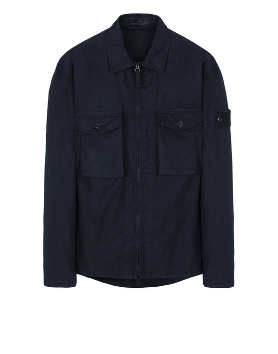 STONE ISLAND OVERSHIRT 103F2 GHOST PIECE_COTTON NYLON TELA