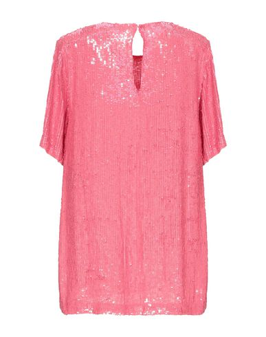 Фото 2 - Женскую блузку P.A.R.O.S.H. пастельно-розового цвета