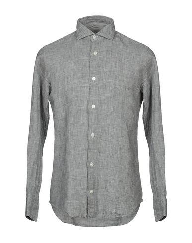 Фото - Pубашка от ELEVENTY серого цвета