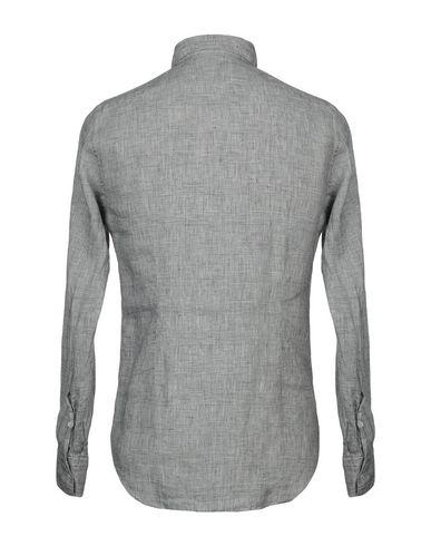 Фото 2 - Pубашка от ELEVENTY серого цвета