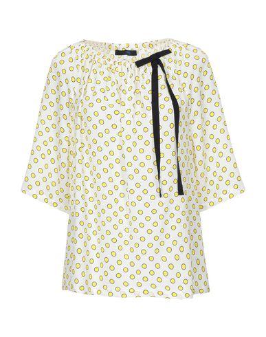 Купить Женскую блузку BLUE LES COPAINS белого цвета