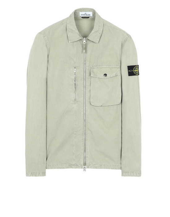 OVER SHIRT 121WN 'OLD' DYE TREATMENT STONE ISLAND - 0