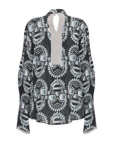 Фото 2 - Pубашка цвет стальной серый