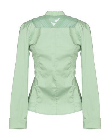 Фото 2 - Pубашка от ERMANNO DI ERMANNO SCERVINO зеленого цвета