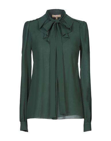 Фото - Pубашка темно-зеленого цвета