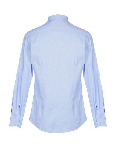 Фото 2 - Pубашка от MR MASSIMO REBECCHI лазурного цвета