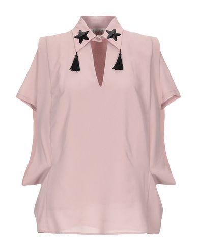 Фото - Женскую блузку JE SUIS LE FLEUR пастельно-розового цвета