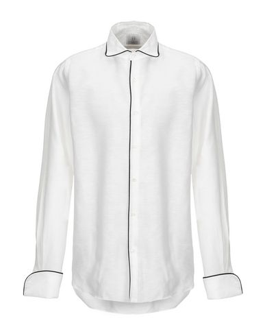 Фото - Pубашка от MASSIMO LA PORTA белого цвета