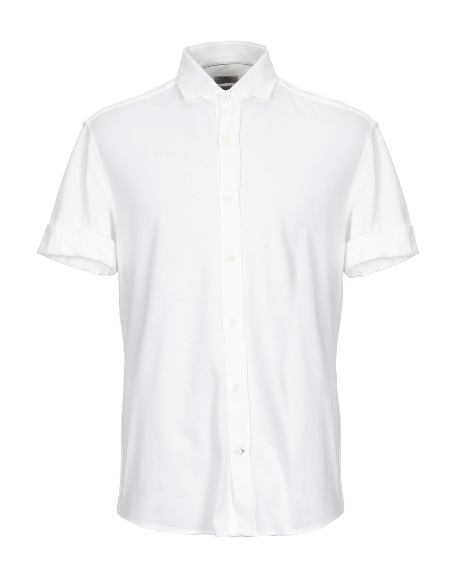 BRUNELLO CUCINELLI Pубашка scabal® pубашка