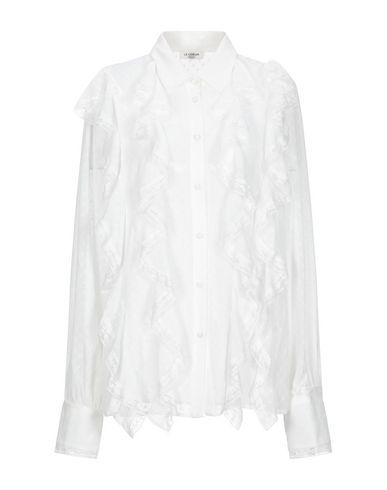 Фото - Pубашка от LE COEUR TWINSET белого цвета