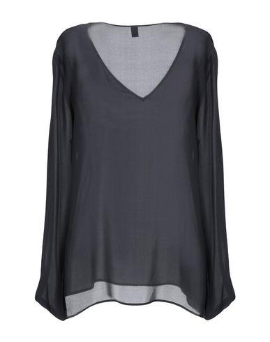 Фото 2 - Женскую блузку ELEVENTY черного цвета