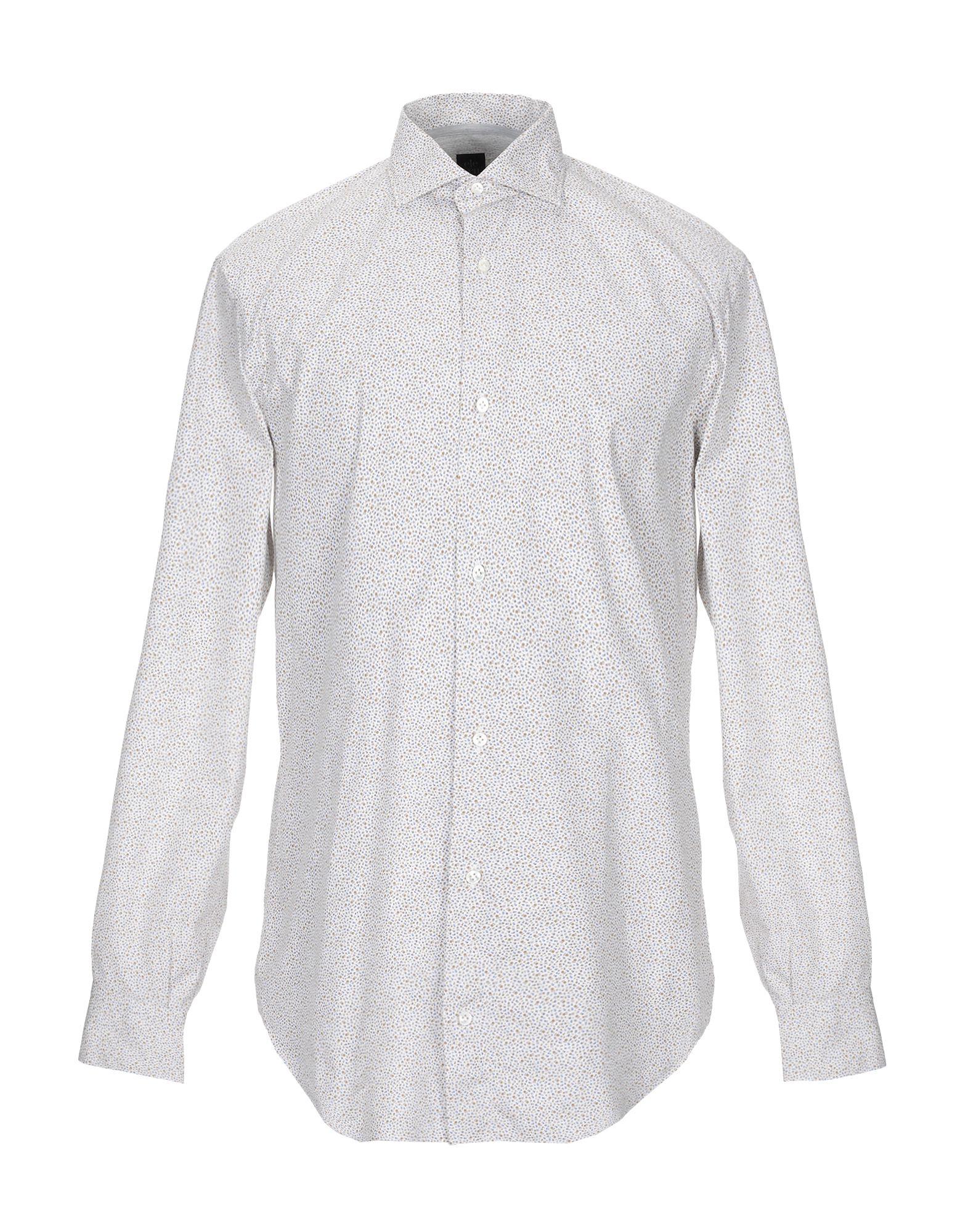 《期間限定 セール開催中》ELEVENTY メンズ シャツ ホワイト 40 コットン 100%