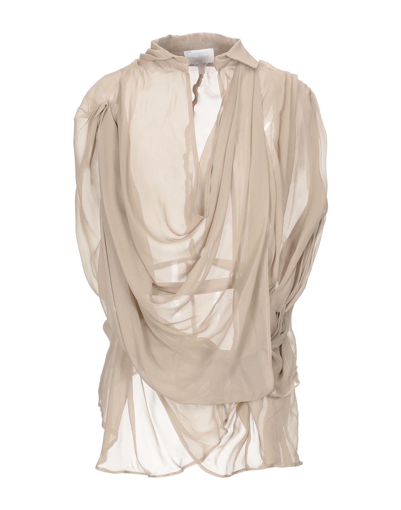 LES HOMMES - FEMME Блузка les hommes femme платье длиной 3 4