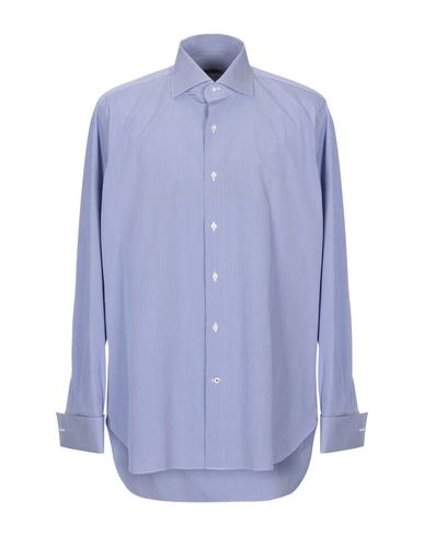 Фото - Pубашка от ROBERTO RICETTI синего цвета