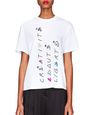 LANVIN Top Woman WHITE JERSEY T-SHIRT f