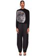 BLACK MOON INTARSIA JUMPER - Lanvin