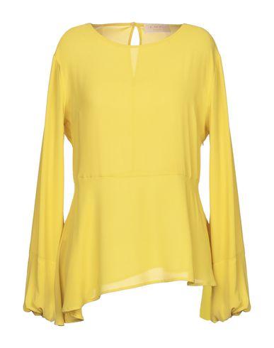 Купить Женскую блузку KAOS JEANS желтого цвета