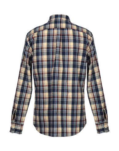 Фото 2 - Pубашка бежевого цвета