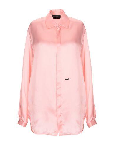 Фото - Pубашка лососево-розового цвета