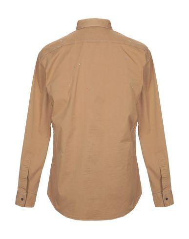 Фото 2 - Pубашка цвет верблюжий