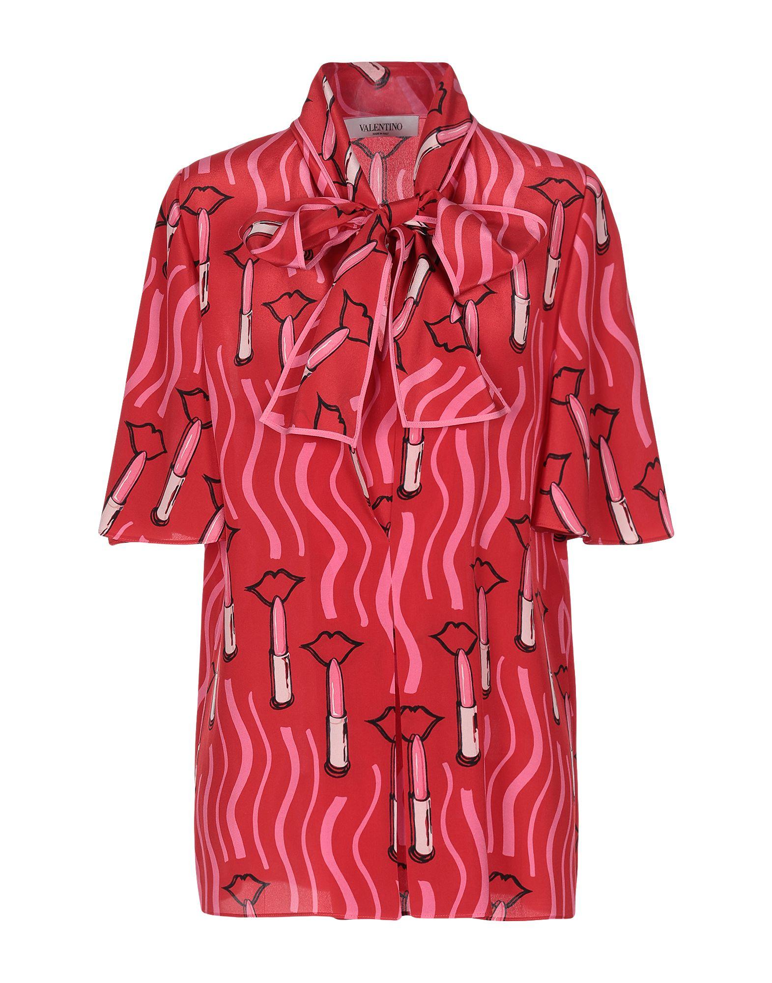 VALENTINO Блузка туника valentino red