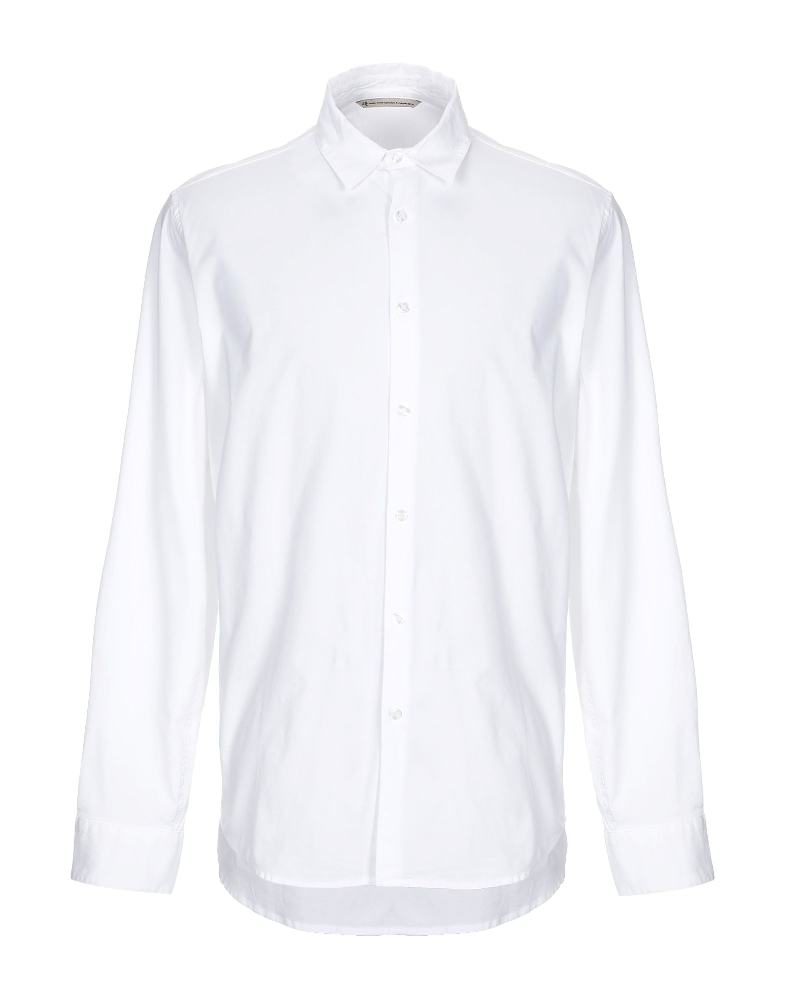 Novemb3r Solid Color Shirt In White