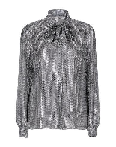 Фото - Pубашка свинцово-серого цвета