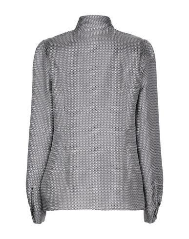 Фото 2 - Pубашка свинцово-серого цвета