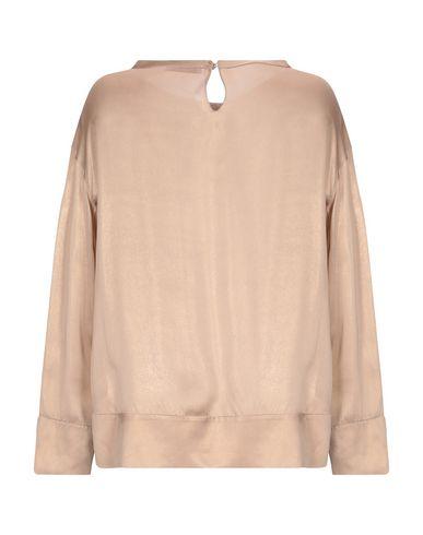 Фото 2 - Женскую блузку  цвет песочный
