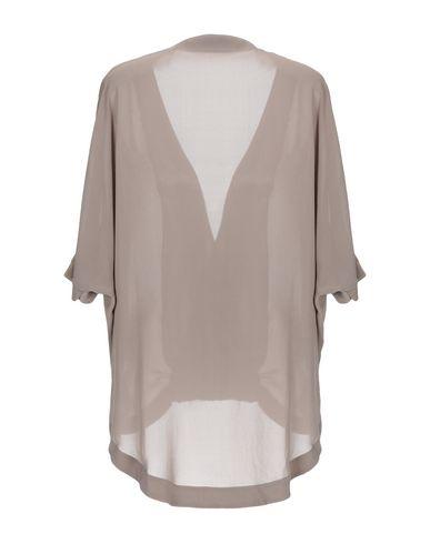 Фото 2 - Женскую блузку  цвет голубиный серый