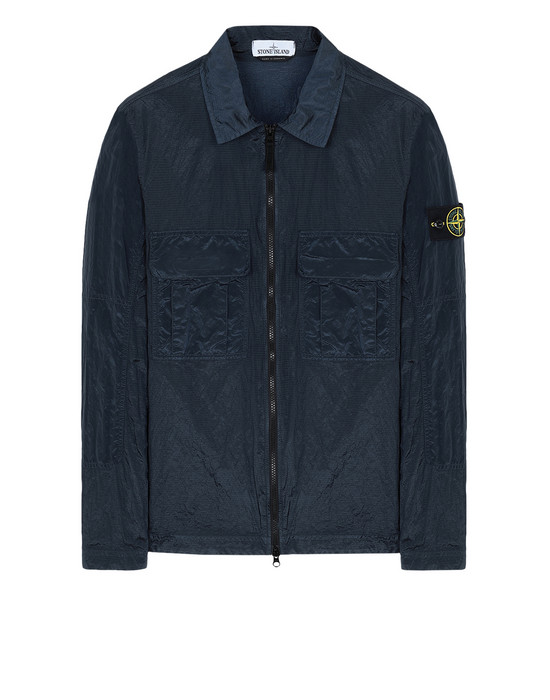 OVER SHIRT 11117 NYLON METAL RIPSTOP STONE ISLAND - 0
