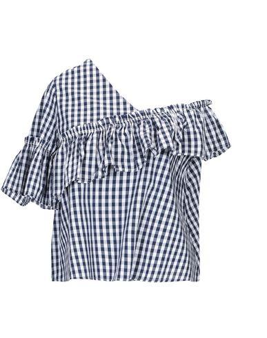 Фото - Женскую блузку SWEET SECRETS темно-синего цвета
