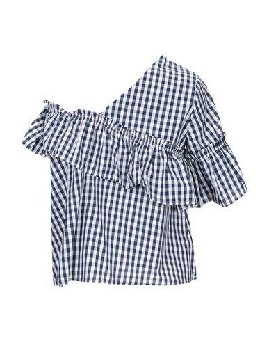 Фото 2 - Женскую блузку SWEET SECRETS темно-синего цвета