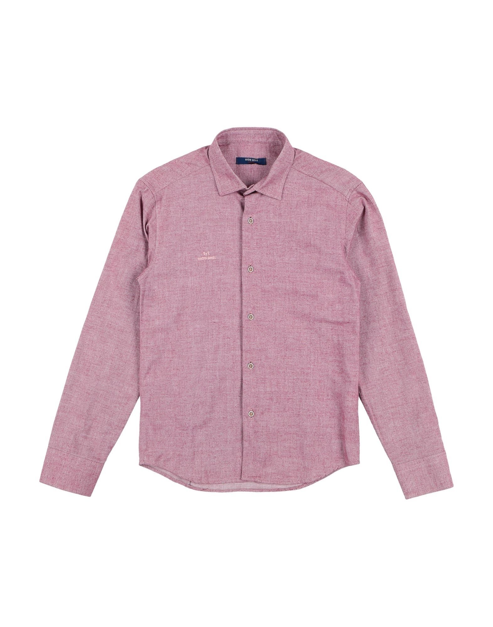 Entre Amis Garçon Kids' Shirts In Pink