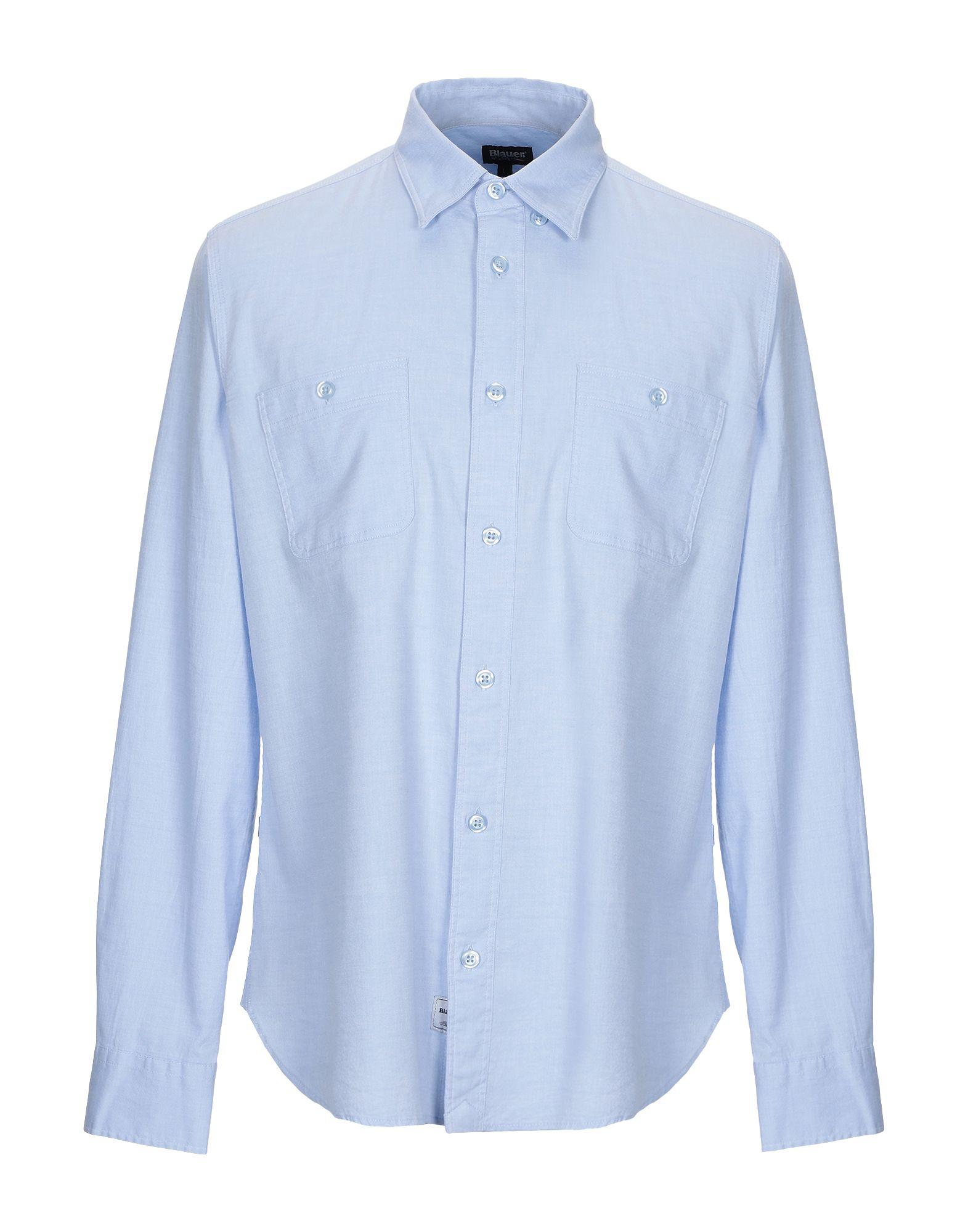 BLAUER Pубашка blauer pубашка