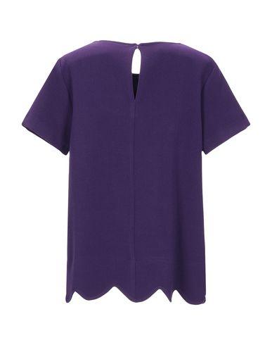 Фото 2 - Женскую блузку CHIARA B. фиолетового цвета