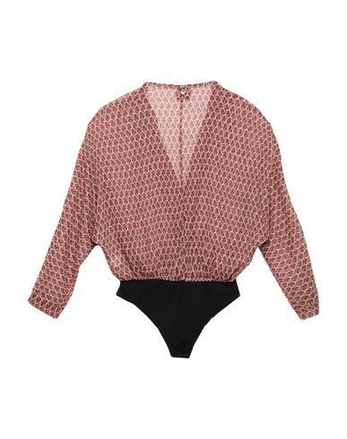 Фото 2 - Женскую блузку MÊME ROAD ржаво-коричневого цвета