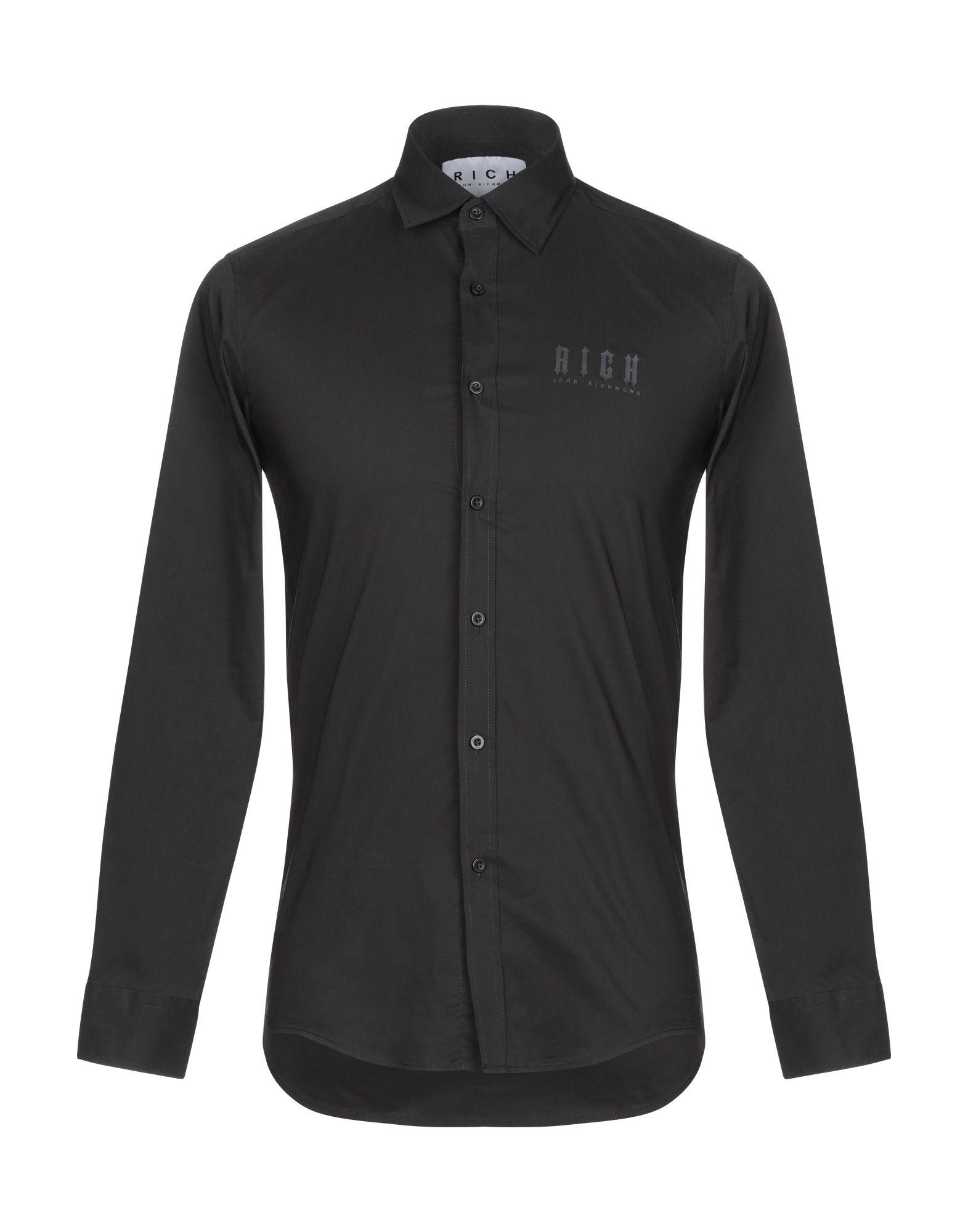 JOHN RICHMOND Pубашка coat john richmond пальто длинные