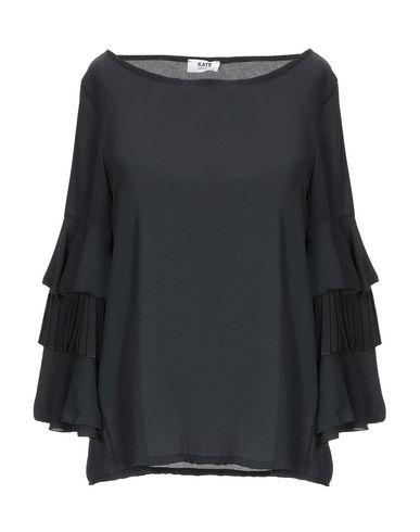 Фото - Женскую блузку KATE BY LALTRAMODA черного цвета