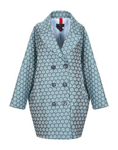 Купить Женское пальто или плащ  лазурного цвета