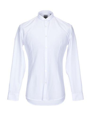 Фото - Pубашка от DANIELE ALESSANDRINI HOMME белого цвета