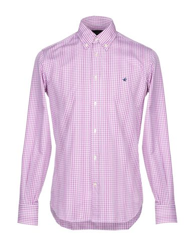 Фото - Pубашка от BROOKSFIELD светло-фиолетового цвета