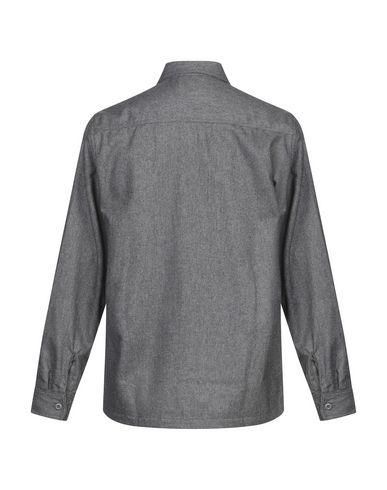 Фото 2 - Pубашка от CARHARTT свинцово-серого цвета