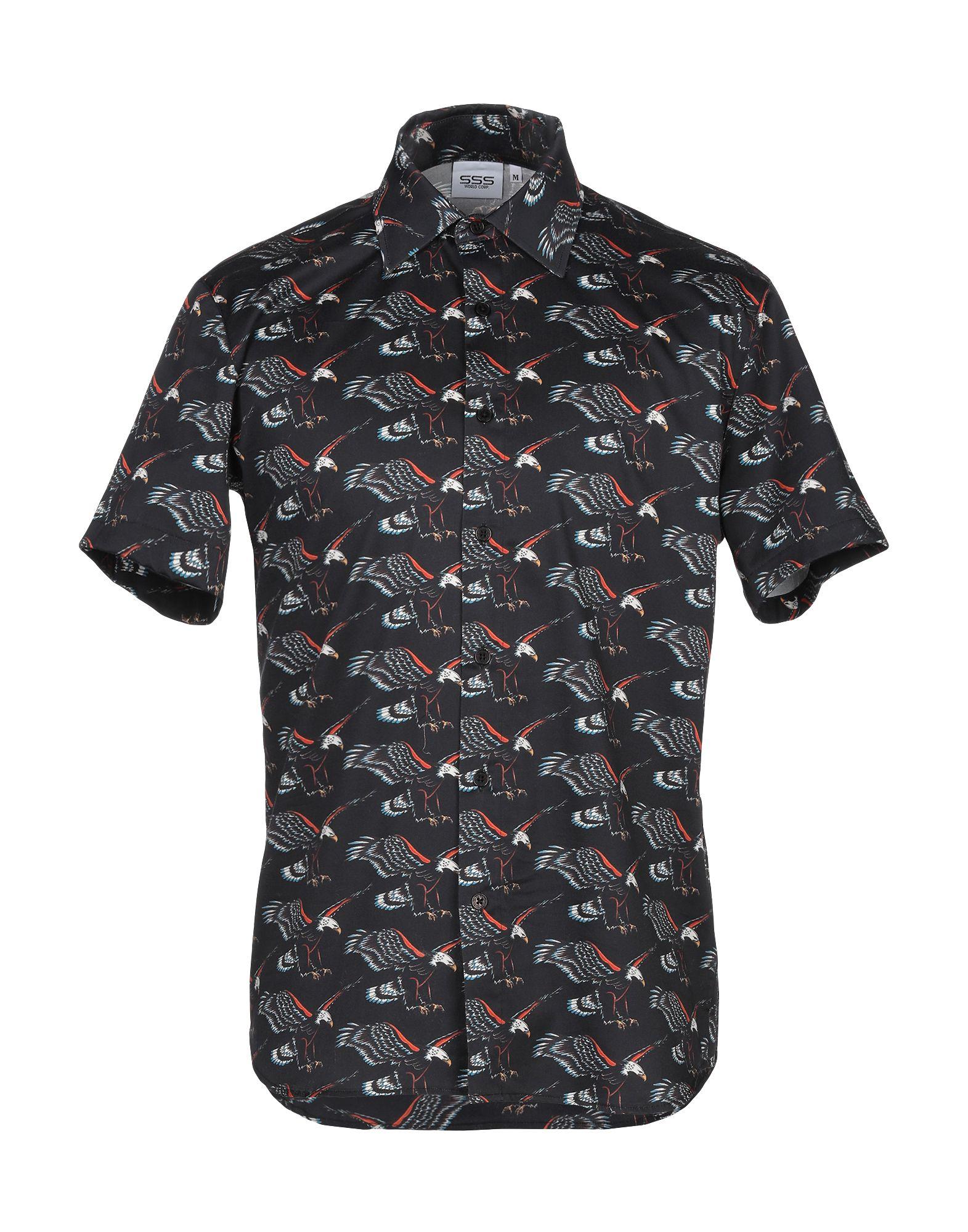 SSS WORLD CORP. Pубашка цена
