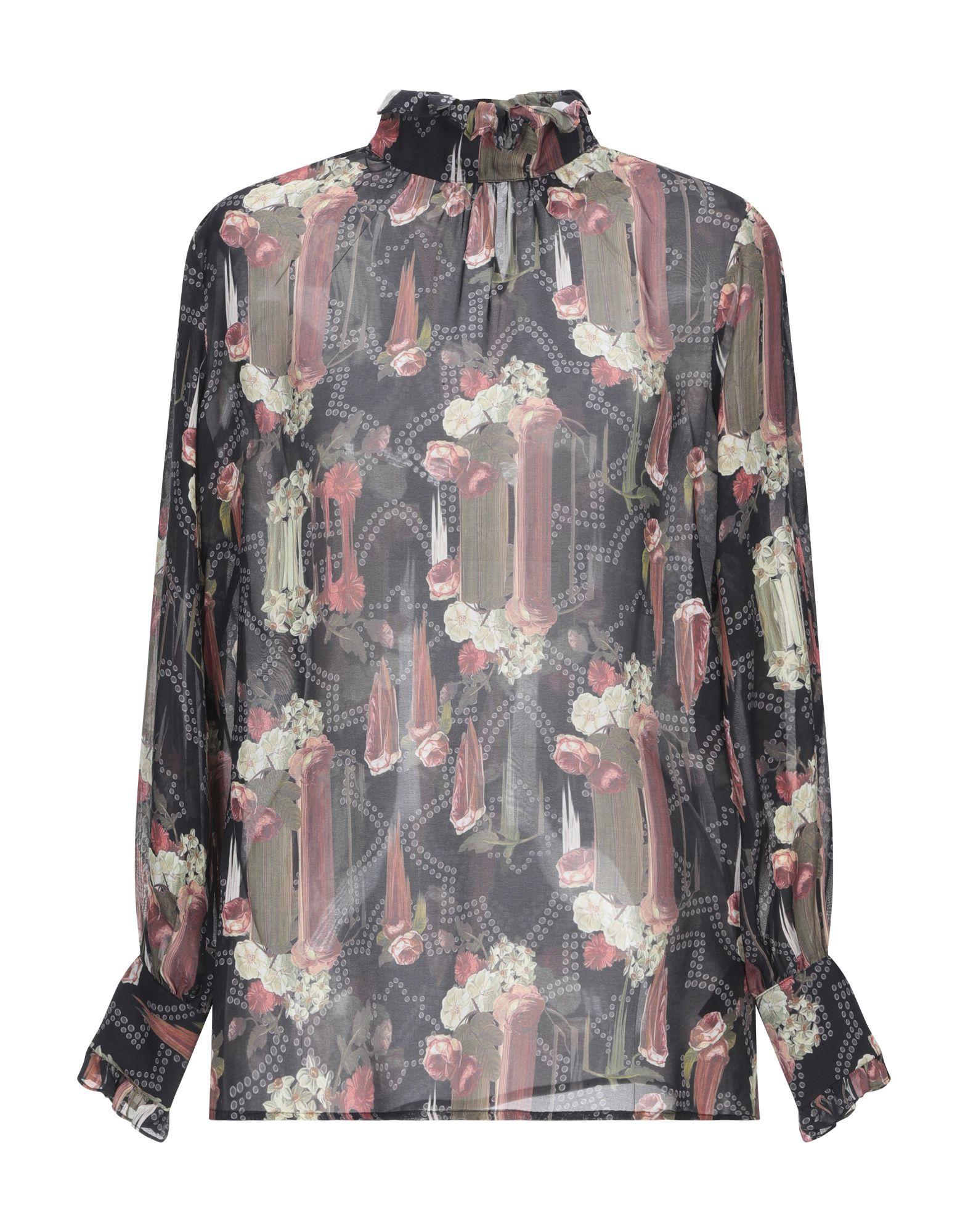 JOHN RICHMOND Блузка приталенная блузка с принтом john richmond page 12